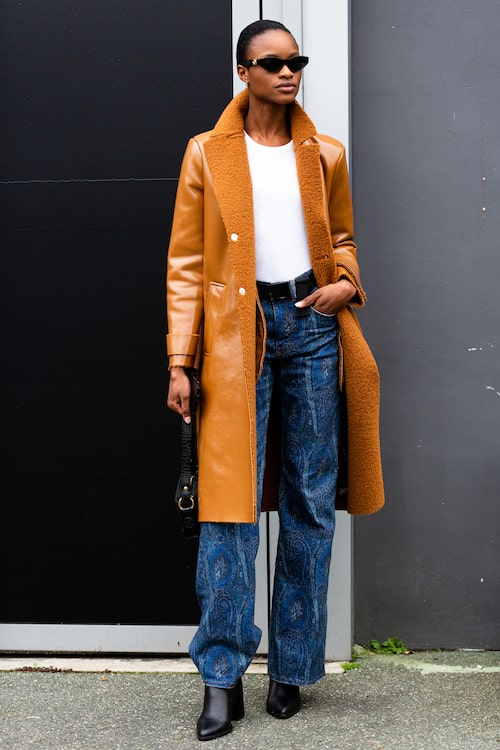 Lappade, rutiga, randiga, paisleymönstrade... Möjligheten för mönstrade jeans är många!