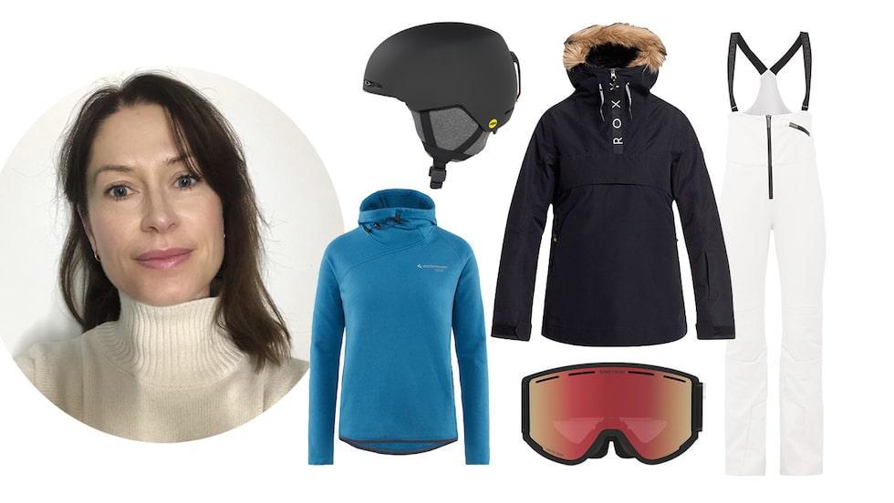 Modechef Lisa Pettersson guidar till vinterns bästa skidkläder och accessoarer.