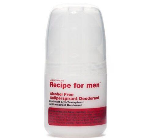 Recipe for men deodorant 24 h.