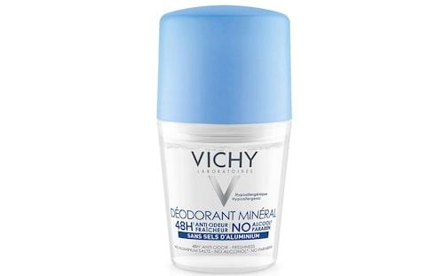 Recension av Mineral deo 48h, 50 ml, Vichy.