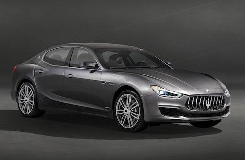 Maserati Ghibli samt storebror Quattroporte kommer att uppdateras.