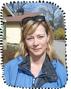 Anna Lang, förskollärare på en I ur och skur-förskola i Älvsjö, har många års erfarenhet av att vara ute med barn på vintern.