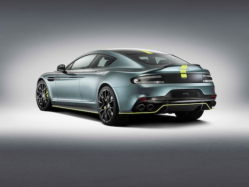 Klatschiga färger och aerodynamiskt paket utmärker den nya AMR-versionen.