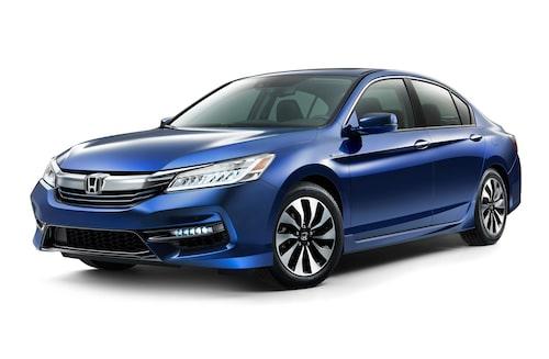 Så här ser Honda Accord i hybridutförande ut i dag.