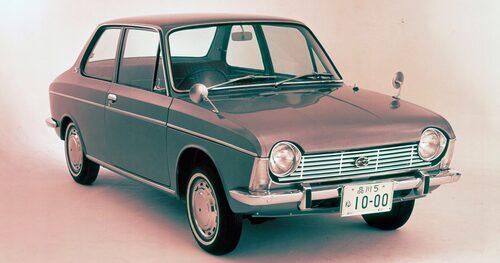 Subaru 1000 kom 1966 och blev startskottet för märkets hittills 50 år långa era med boxermotorer.