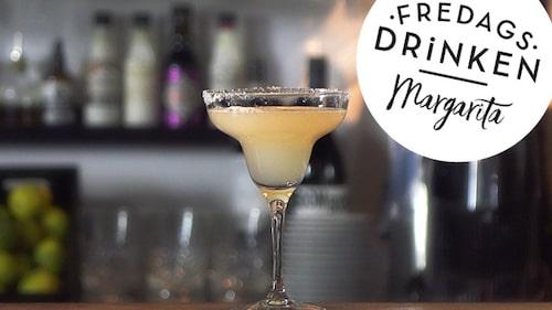 Recept på klassiska drinken Margarita.