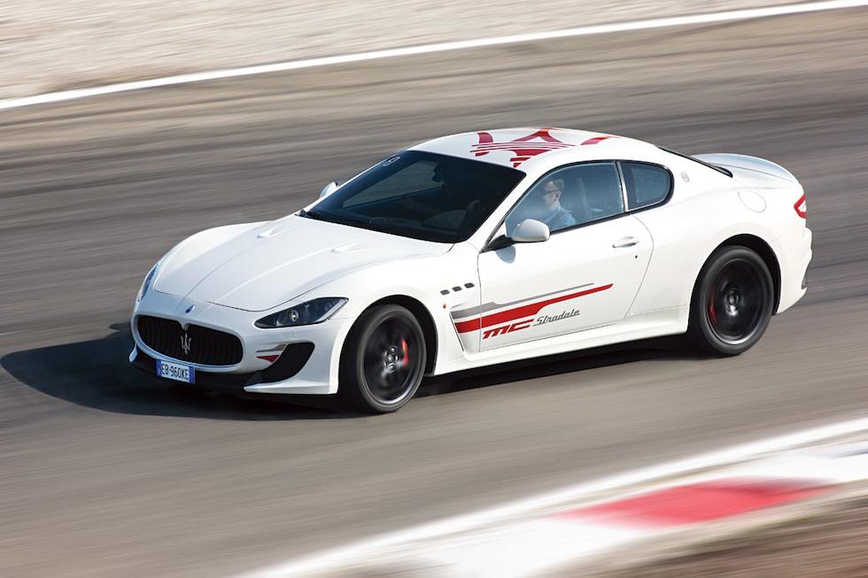 Provkörning av Maserati GranTurismo MC Stradale