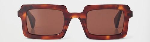 Fyrkantiga/rektangulära 60tals-glasgon från Rodebjer.