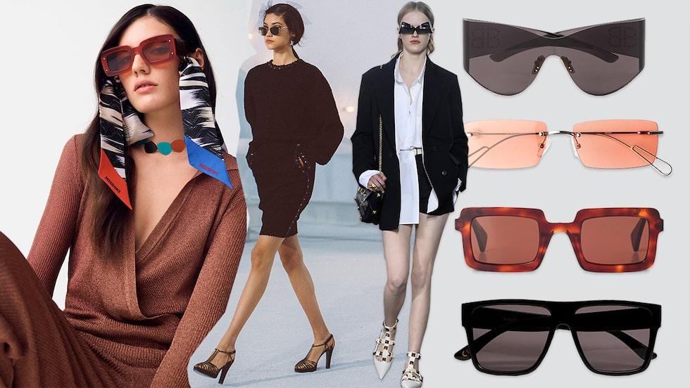 Solglasögon 2021 –snyggaste modellerna för dam online.