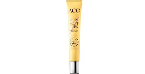 Recension på Sun soft lips spf 25 från Aco.