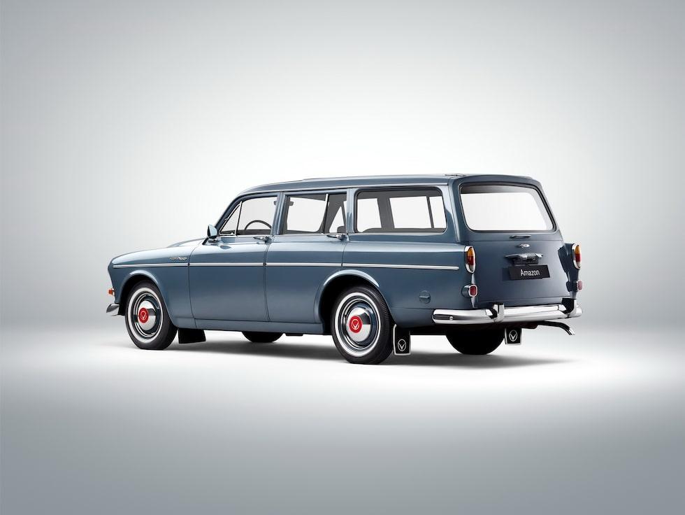 1962 Volvo 221 Amazon Kombi