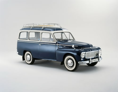 1958 Volvo PV 455 Duett