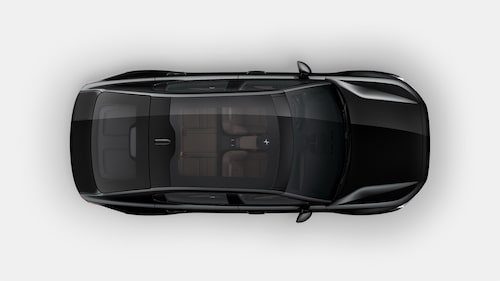 Panoramaglastaket är standard hos lanseringsmodellversionen för 659 000 kronor.