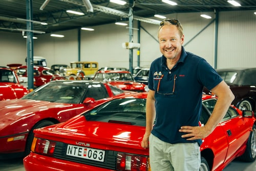 Michael Luft på Bilweb Auctions.