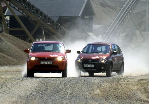 Honda HR-V och Renault RX4
