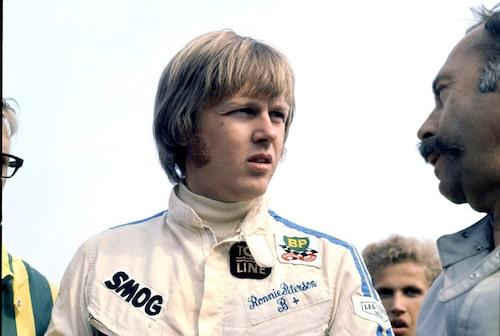 En ung Ronnie Peterson.
