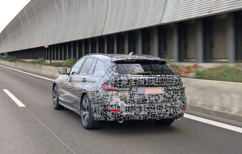 Nya BMW 3-serie Touring har premiär något senare.