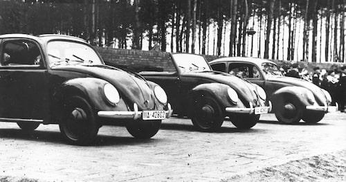 Volkswagen Typ 1 Cabriolimousine, Cabriolet och Limousine 1938.