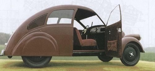 Porsche Typ 12 från 1931 byggd av Zündapp.