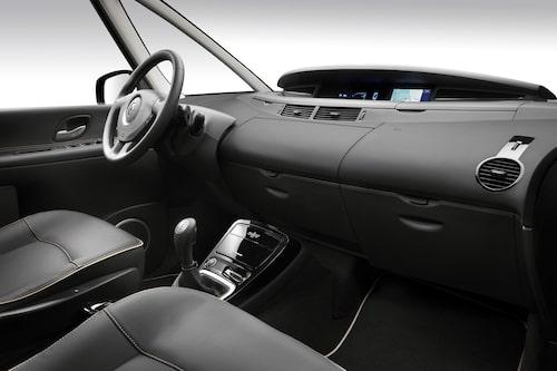 Renault Espace interiör innan facelift (vet ej om interiör berörs av facelift)