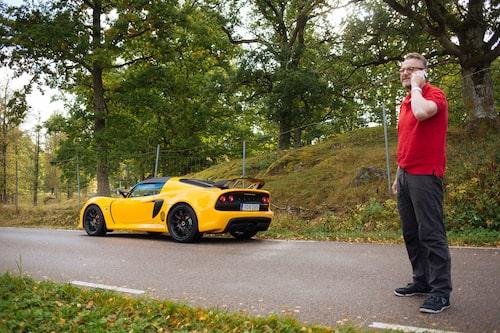 Tack vare Bil-Hallen i Mjölby är Lotus tillbaka i Sverige, det tackar vi för! Exige är ett verkligt njutningsinstrument.