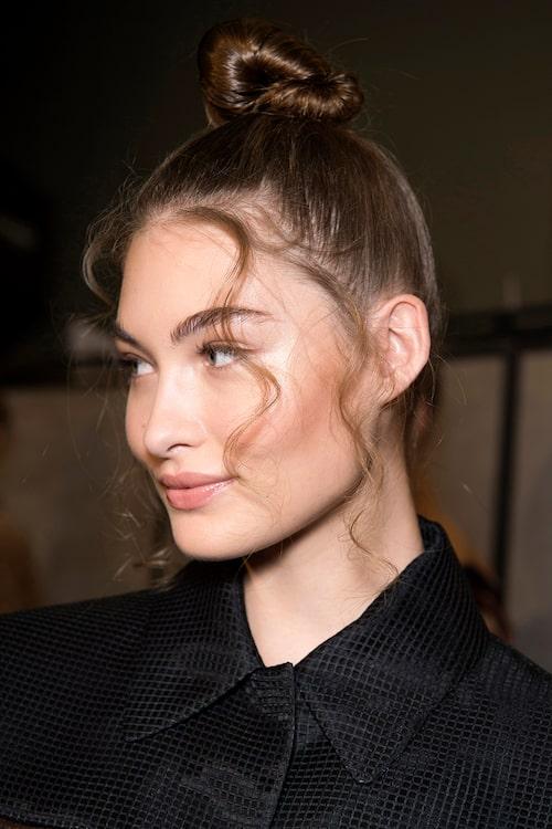 Busig knut var Fendis val av frisyr inför hösten 2019.