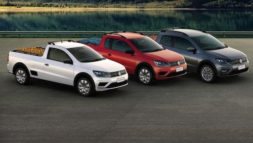 Volkswagen Saveiro facelift