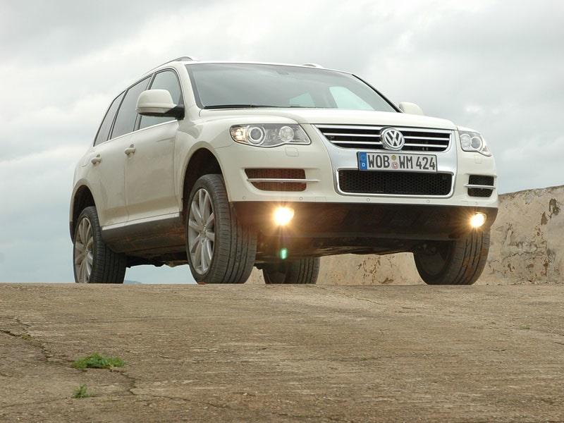 Provkörning av VW Touareg V8 FSI