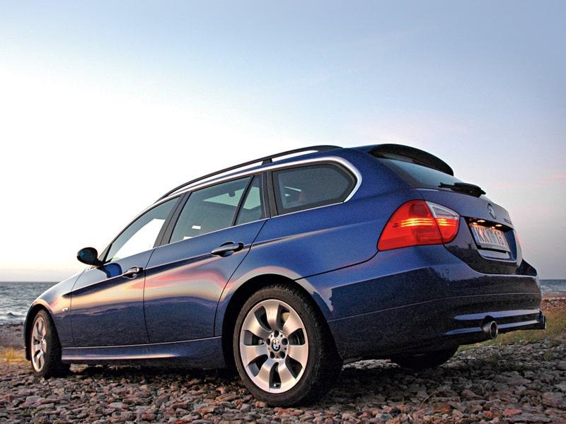 Provkörning av BMW 335d Touring