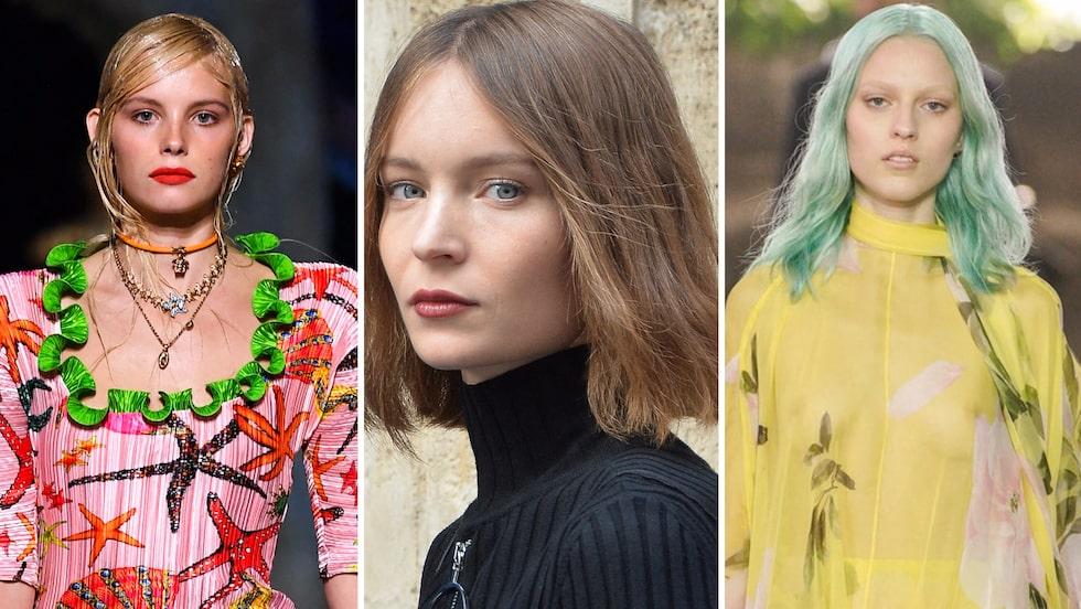 """Flottigt hår, slarviga toppar och """"au naturel"""" – årets hårtrender är inga direkta nyheter för oss mammor!"""