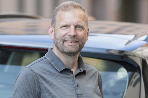 Klaus Silfvenius, bilhandelsansvarig på MRF.