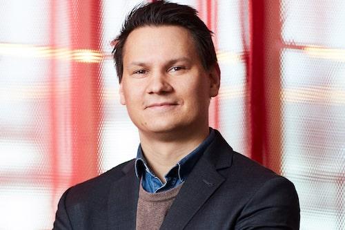 Tero Marjamäki, presschef på Blocket.