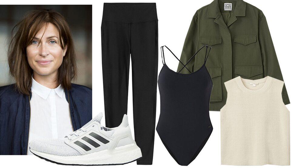 Modechef Lisa Pettersson visar hur du stylar träningstights till vardags i sommar.