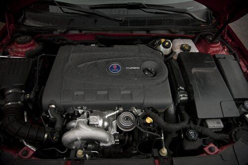 Saab 9-5 SportCombi TTiD4 med dieselmaskin på två liter och 190 hästkrafter.