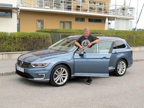 """Volkswagen har lyckats. GTE är en laddhybrid som går att """"räkna hem""""."""
