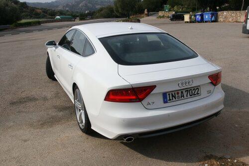 Audi A7 Sportback 3,0 TDI S-line med 245 hästkrafter.