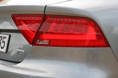 Audi A7 Sportback 3,0 TDI med 204 hästkrafter.
