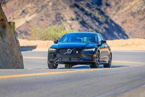 """Svart som synden. Volvo Cars ambitioner med """"nya"""" Polestar-varumärket är framför allt elektrifiering, design och sportig körupplevesle."""
