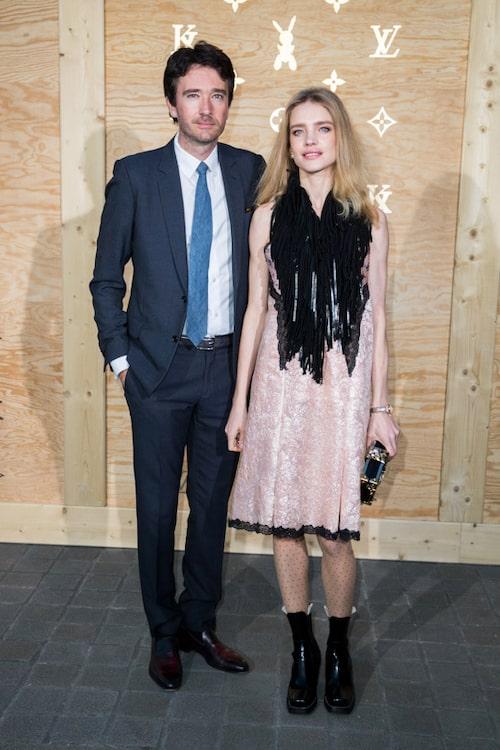 Antoine Arnault och Natalia Vodianova