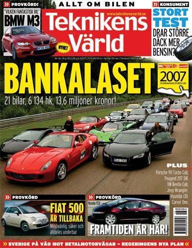 Teknikens Värld nummer 16 / 2007