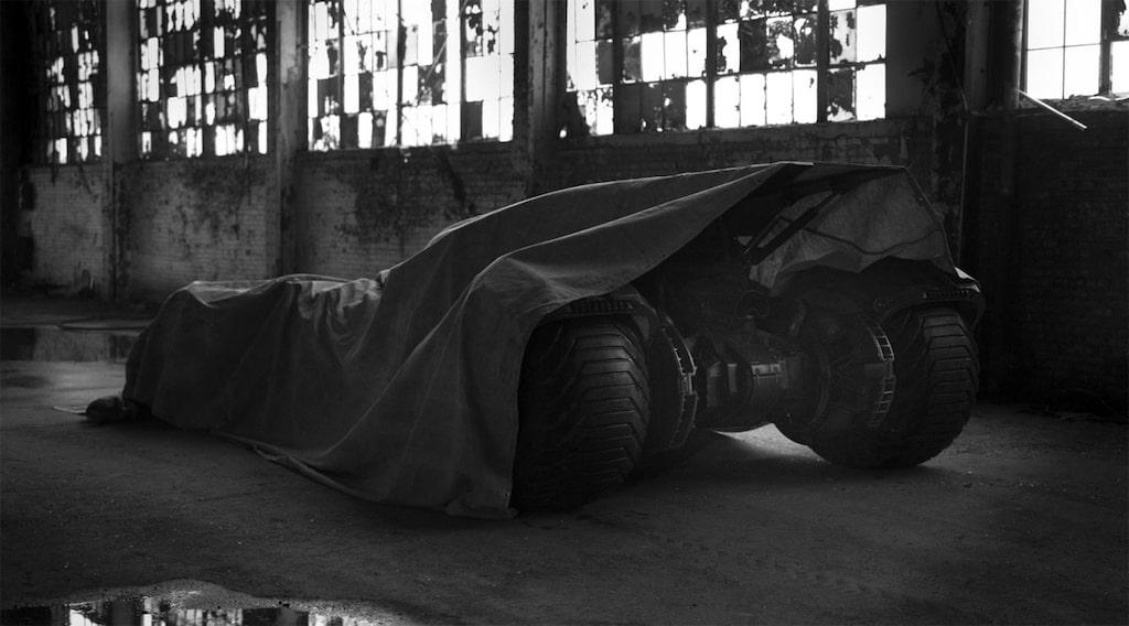 Nya Batmobilen