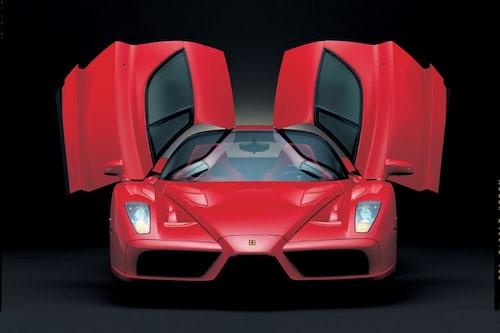 Alla pojkars våta dröm när det begav sig mellan 2002 och 2004: Ferrari Enzo.