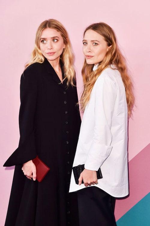 Systrarna har inga Instagramkonton, men deras märken finns på @therow och @elizandjames