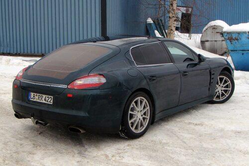 En Porsche med dragkrok... lär man inte få se så många av...