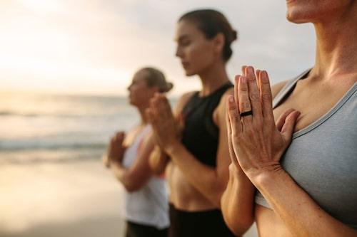 Yoga är populärt i Palma.