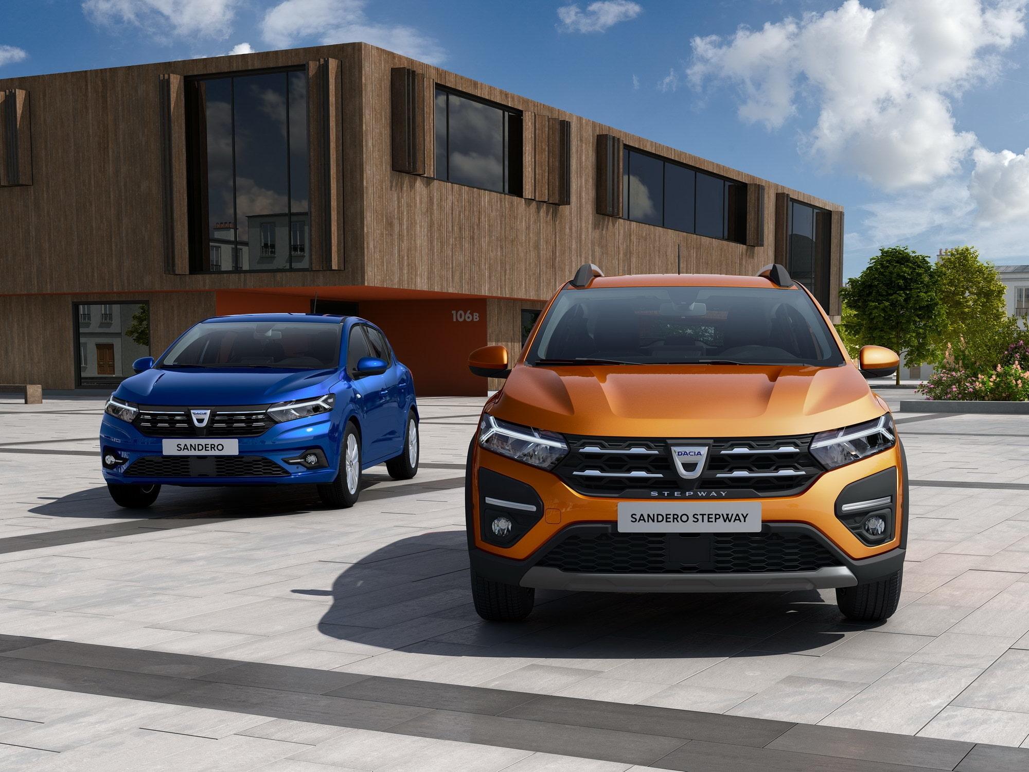 Nya Dacia Sandero och Logan officiella | Teknikens Värld