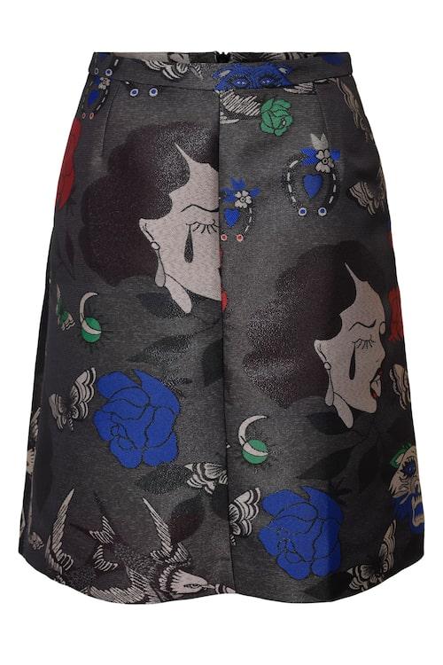Kjol med mönster, 1499 kr.