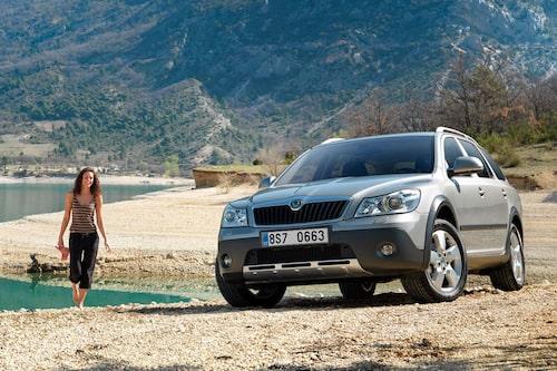 Skoda Octavia Scout, andra generationen facelift.