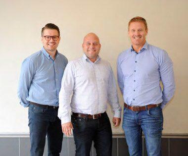 Patrik Nygård, Staffan Lindewald och Marcus Thuressonhar jobbat med att utveckla Caromba. Målsättningen är att etablera konceptet i Europa.