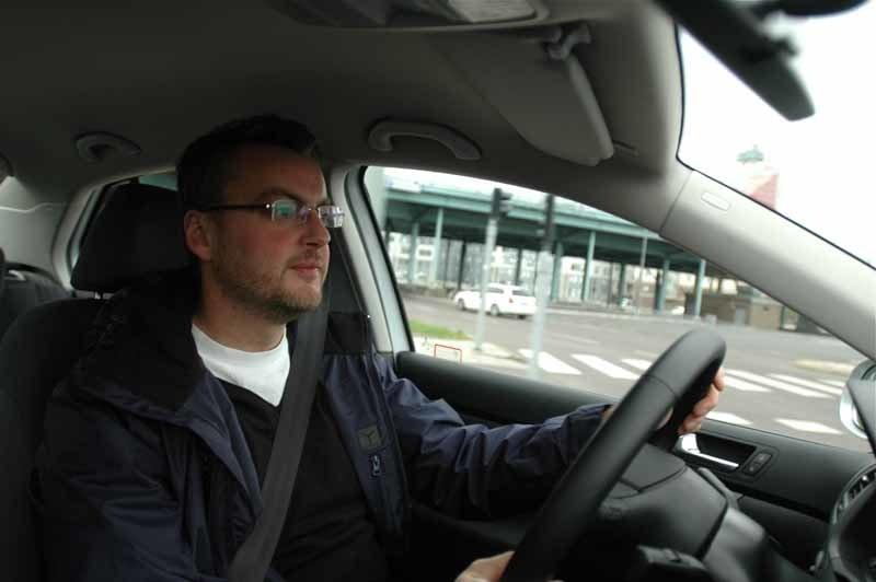 """Lika lättkörd som en vanlig VW Jetta Multifuel"", blir testchef Hedbergs omdöme."